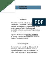 5. Cell Basics Excel 2016