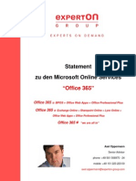 Experton-Group Office-365 2010-10-20 Scribd