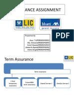 Insurance Plans LIC