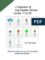 Beginning Reader Stories - Levels 11 to 20