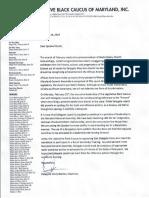 LBCletter - Caucus Letter - Discrimination