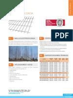 Especificacion Malla Electrosoldada Prodac