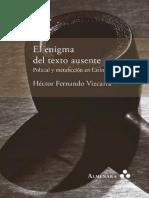 Vizcarra Hector Fernando 2015 El Enigma (1)
