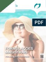 Formulacoes Magistrais Peeling e Fotoproteçao