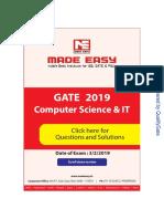 CS GATE 2019 QualifyGate