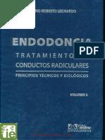 ENDODONCIA TRATAMIENTO DE CONDUCTOS RADICULARES. PRINCIPIOS TÉCNICOS Y BIOLÓGICOS VOLUMEN 2 DE LEONARDO.pdf