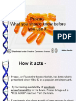 Prozac- What You Should Know Before You Use