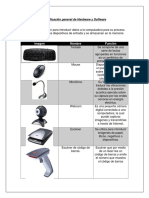 Clasificación General de Hardware y Software