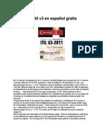 Manual de Itil v3 en Espaol