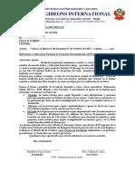 Carta de Confirmación de Visita Iglesias