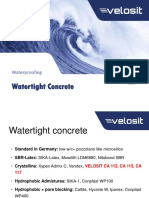 VELOSIT-Watertight-Concrete AF Egy Army Corps of Engineers