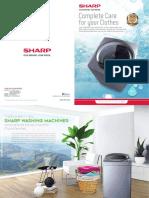 Sharp Washing Machine Brochure