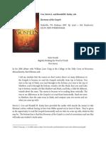 Book Review Buzzard