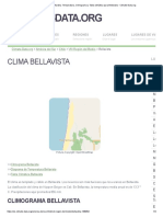 Clima Bellavista_ Temperatura, Climograma y Tabla Climática Para Bellavista - Climate-Data.org