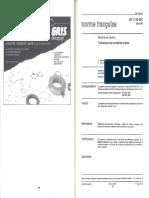 NF E 25-501 Tolerancias Arandelas Planas