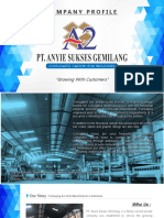 Company Profile PT Anyie Sukses Gemilang