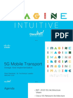 Design 5G Mobile IP RAN Transport
