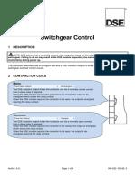 056-022 Switchgear Control
