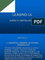 Leasing-ul Sursa a capitalului