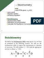 CDB2043 - Ch 03 - Stoichiometry