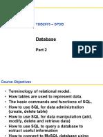 TDB2073 - Lecture 10