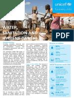 Unicef Wash Briefing Notes 2018