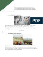 makalah Perubahan Sosial