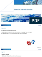 Core Deliverable Lifecycle Training Material - Examples Included EN1.00