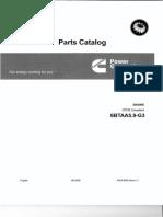 Parts Catalog Cummins 6BTAA5.9-G3 for 125 KVA - A024J826