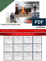 FPA Course Calendar 2018