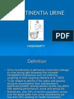 Incontinentia