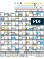 Interkultureller Kalender 2019 A3 PDF