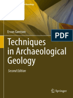 Techniques in Archaeological Geology