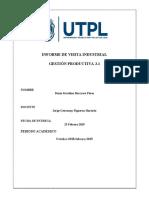 Informe de Visita Industrial
