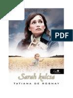 Tatiana de Rosnay - Sarah kulcsa.pdf