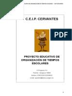 Proyecto Tiempos Escolares 2018