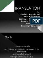 Teknik terjemahan