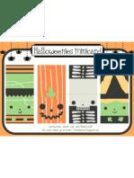 Hallo Weenies Minicard Copy