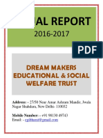 2. Dream Maker NGO- Annual Report 2016-17.docx