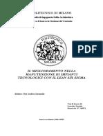 Miglioramento Manutenzione con SIX SIGMA.pdf