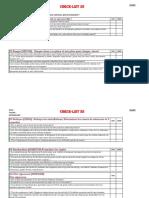 Checklist 5S