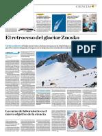 El Retroceso Del Glaciar Znosko