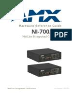 NI X00.HardwareReferenceGuide