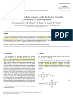 20.1999.Kinetic and Catalytic Aspects in the Hydrogen Peroxide Production via Anthraquinone