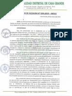 r.a.036 2019 Mdcg(Ratificacion Plat. Def.civil