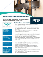 Global Telepresence Robot Market by Value and Volume