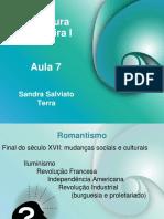 O romantismo - Sandra Salviano