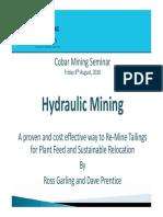 Cobar 1540 Ross Garling Hydraulic Mining