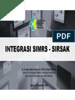 2. Dr Agus Hadian Rahim -Integrasi SIMRS GOS - SIRSAK