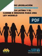 Informe Analisis de Leyes de Femicidio en ALC Dec 3 2018compressed